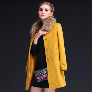 Aliexpress.com : Buy Women Winter Coat Wool 2015 Europe High end ...