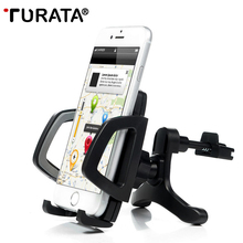 TURATA выдвижной держатель для телефона универсальный автомобильный держатель вентиляционное отверстие кронштейн держатель стойки для телефона 3,5-6,0 для iPhone samsung