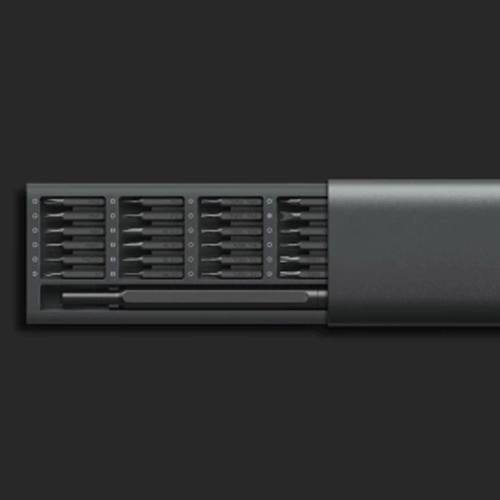 Image 5 - 100%Xiaomi Mijia Wiha Daily Use Screw Kit 24 Precision Magnetic Bits Alluminum Box Screw Driver xiaomi smart home Kit-in Smart Remote Control from Consumer Electronics