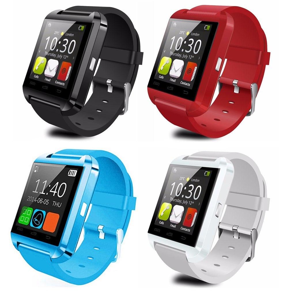 U8 Bluetooth Smart Sport Uhr Höhenmesser Armband Armband Player Fernbedienung Kamera Karte Für Android Kinder Kinder Geschenke