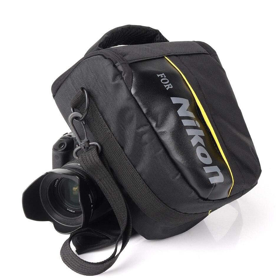 DSLR Cámara bolsa para Nikon P900 D90 D750 D5600 D5300 D5100 D7000 D7100 D7200 D3100 D80 D3200 D3300 D3400 d5200 D5500 D3100