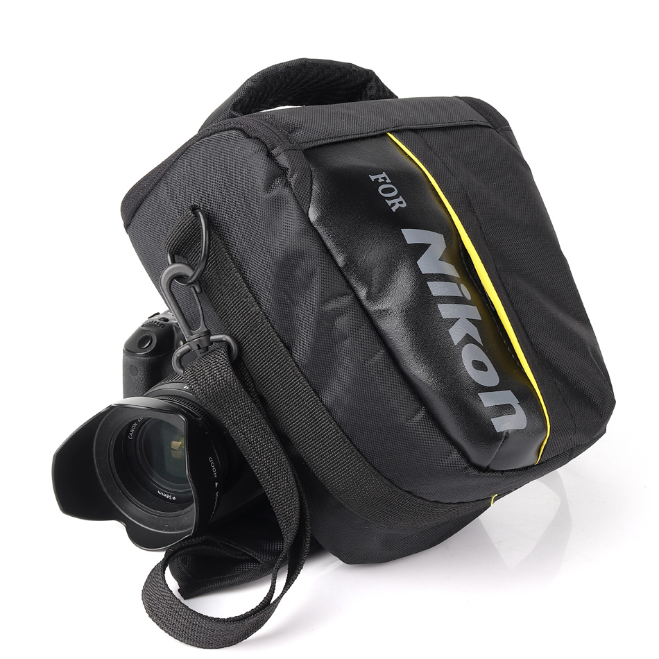 DSLR Camera Bag Case Pour Nikon P900 D90 D750 D5600 D5300 D5100 D7000 D7100 D7200 D3100 D80 D3200 D3300 D3400 D5200 D5500 D3100