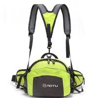 Unisex Waterproof Nylon Running Waist Bags Man Women 3 In 1 Multifunctional Running Waist Belt Tactical
