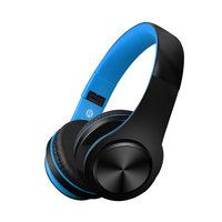 High Quality Cheap Bluetooth Headphone For Iphone Huawei Samsung Black Wireless Headset For MP3 MP4 Headphones