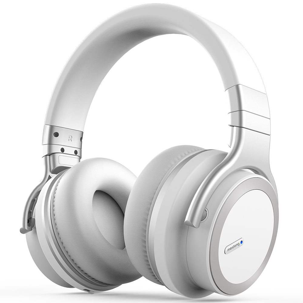 MEIDONG E7PRO actif suppression du bruit Bluetooth casque sans fil Bluetooth casque avec Super HiFi basses profondes 30 heures de jeu