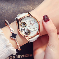 ZGO Automatic Women Watches Luxury Ladies Wrist Watches Women's Watches Automatic Mechanical Water Resistant Watches Women.