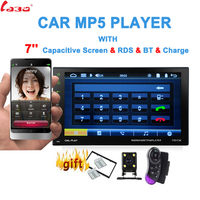7 Touch Mirror Link Screen 2Din Car Radio Bluetooth Hands Free FM/TF/USB Rear View Camera Mirror For Android Phone 13 languages
