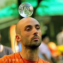 Плата shipping60/70/80/90/100 мм связаться жонглирование мяч Волшебные трюки Кристалл Ultra Clear акриловый шар для манипуляций Для Жонглирования