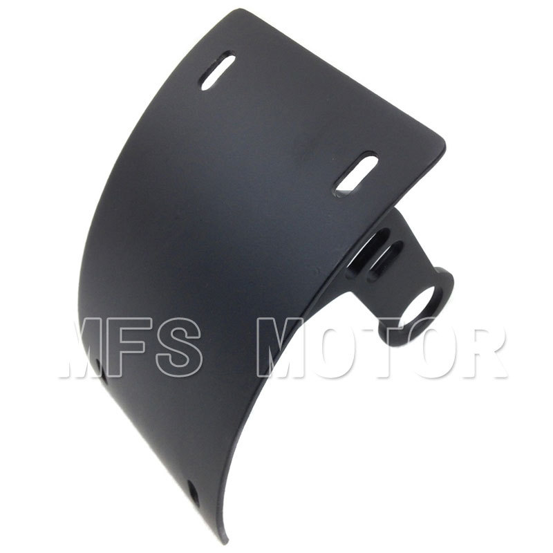 Motorcycle Part Black License Plate Tag Holder Bracket For Yamaha YZF-R6 2006-2012 For Suzuki Boulevard M109R 2006-2011 new cnc fender eliminator kit license plate holder for 2006 2007 2008 2009 2010 2011 2012 yzf r6 chinese spare parts accessory