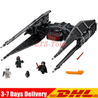 Compatible legoing 75179 Lepin 05127 Star Kylo Ren's Tie Fighter Lepin Block Set Compatible with Building Blocks Bricks Gifts