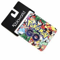2018 Pokemon Go плюс кошелек Покемон мультфильм Женские Кошельки Покемон кошелек ID кредитных карт кожаная сумка держатель кошельки для Для мужчин