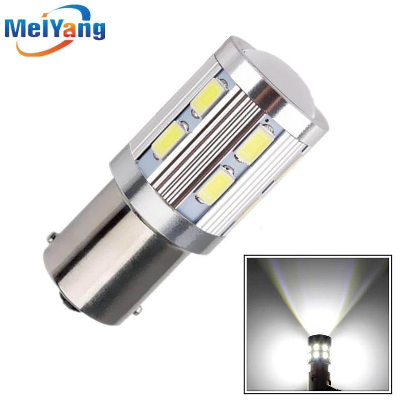 1156 BAU15S 12 SMD Samsung 5730 led High Power lamp py21w Car LED bulbs rear brake Lights Source parking 12V White