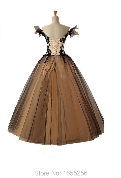 089d3700e60 sweet ball kleider ball gowns black masquerade dress ball gown vintage prom  dresses ball gown prom dresses -in Prom Dresses from Weddings   Events on  ...
