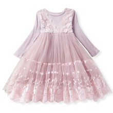 2019 Girl Clothes Kids Dresses For Girls Lace Flower Dress Baby Girl Party Wedding Dress Children Girl Princess Dress