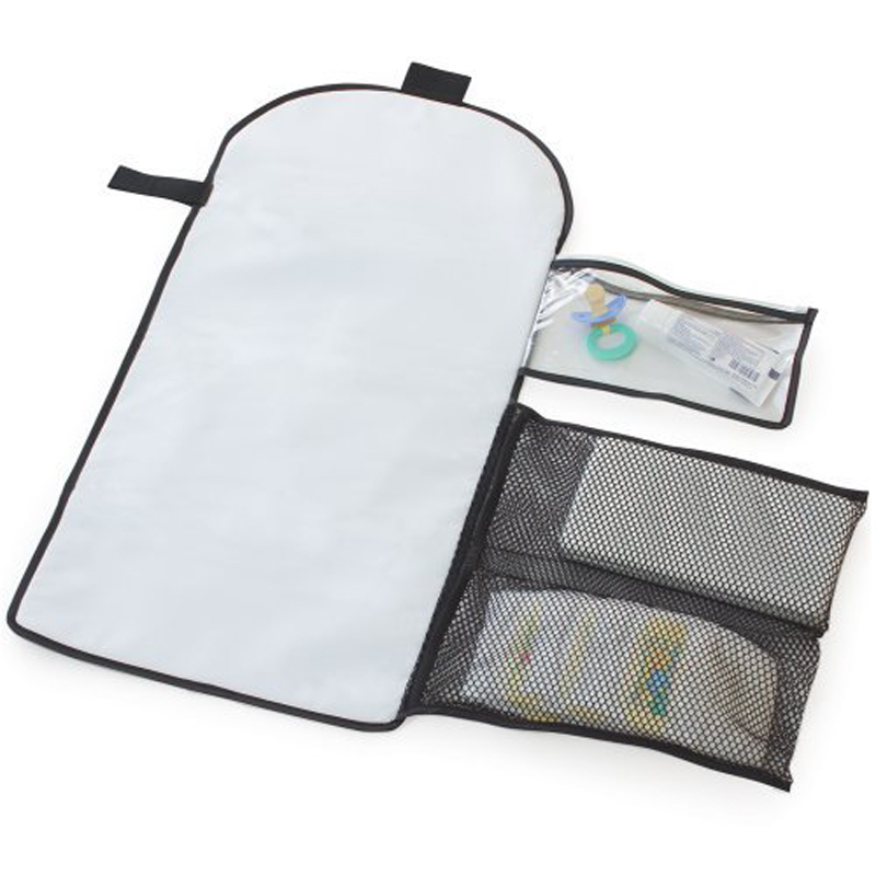 2016 portable travel baby diaper changing table pad waterproof met travel nappy organizer handbag outdoor mum