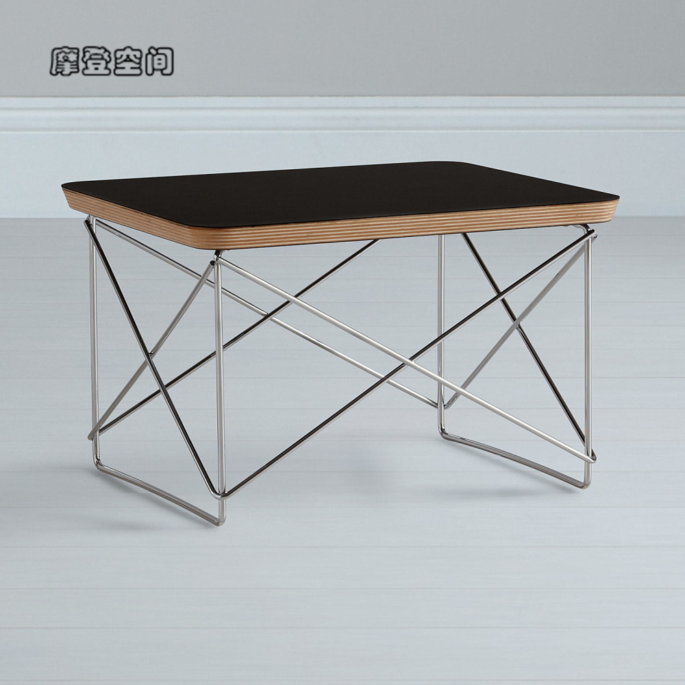 Home Furniture/Desinger Occasional Table LTR/plywood-square/coffee Table/Black&White/Living Room Small Tea Table Free Shipping