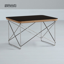 Home Furniture/Desinger Occasional Table LTR/plywood-square/coffee table/Black&White/Free Shipping цена