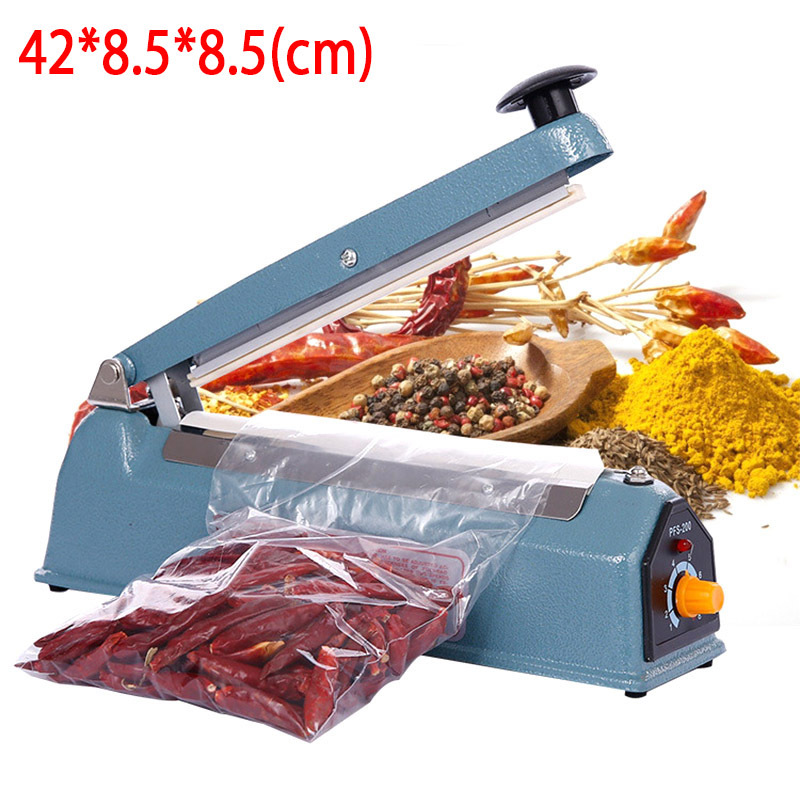 Plastic Sealing Machine Vacuum Food Sealer Film Bags Electric Packing Machine Tools Heat Hand Free Shipping