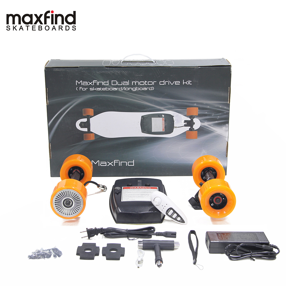 Image 3 - Maxfind World's Lightest Remote DIY Electric Skateboard Kit with Single Hub Motor 600W for Adult and Kids-in Skate Board from Sports & Entertainment
