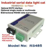 الصناعية الصف ثنائية الاتجاه rs485 rs422 إلى الألياف البصرية transceiver/البصرية القط/مودم بيانات الاتصالات الشوري fc 20 كيلومتر