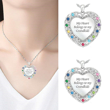 Cz Jewelry Wholesale White Color Crystal Heart Shape Pendants Necklaces For Women D20