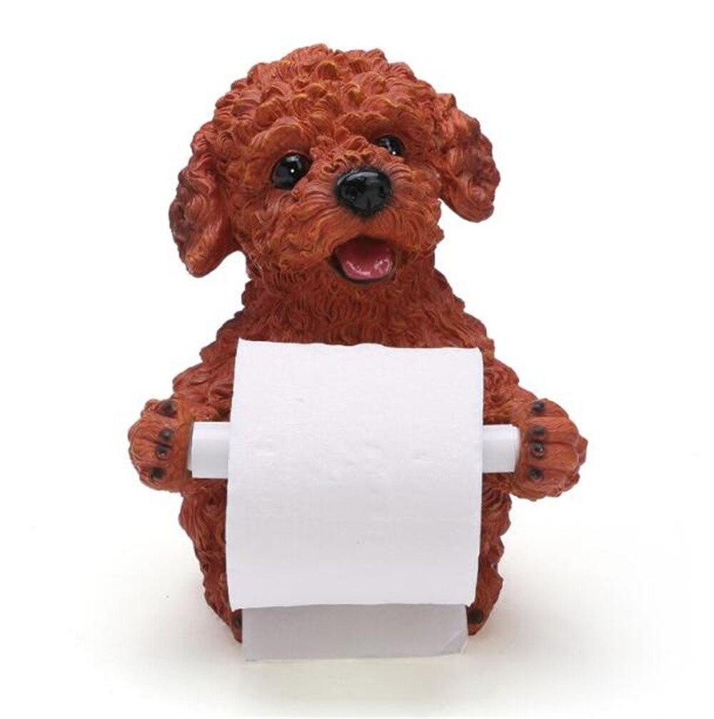 ⊰Estilo Europeo baño animal encantador perro de peluche papel ...