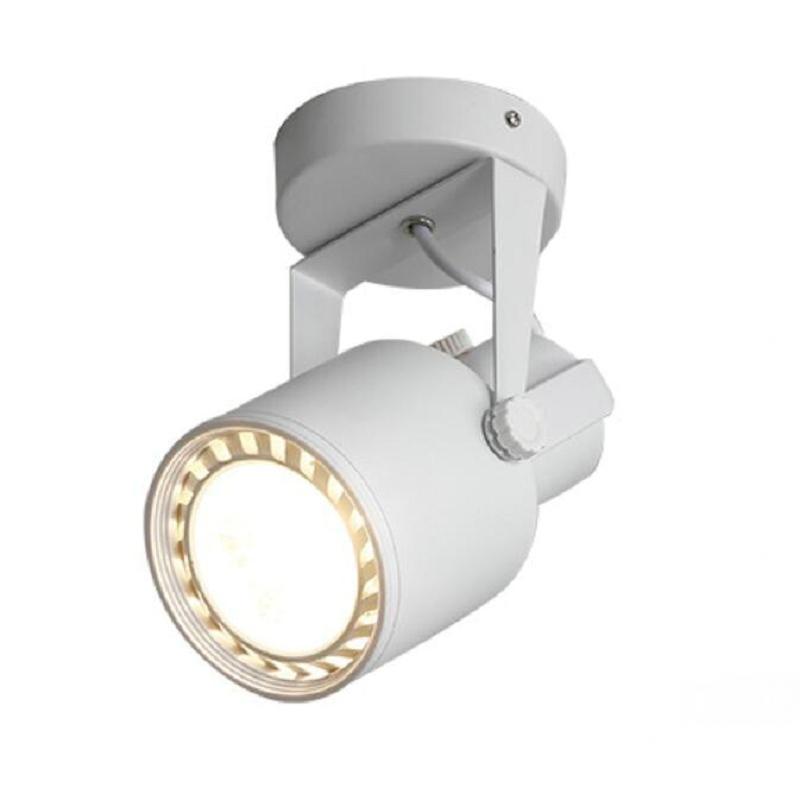 Işıklar ve Aydınlatma'ten Raya Monte Aydınlatma'de 35W 40W E27 PAR30 COB LED ray lambası alüminyum Tavan Raylı hüzme aydınlatma Spot Ray Spot Halojen Lambaları Değiştirin title=