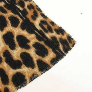 Image 5 - 2019 marki Leopard print kaszmirowy szalik dla kobiet winter warm projektant kobiet moda pashmina szale dziewczyna głowy Sexy szaliki