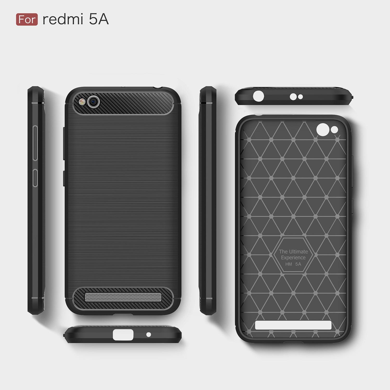 save off 7b396 4b558 US $4.49  TPU Case for Xiaomi Redmi 5A 5 A Redmi5A Soft Silicone Carbon  Fibe Case Mobile Phone Cover for Xiaomi Redmi A5 Red mi 5A Coque-in Fitted  ...