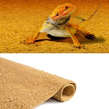 Reptile Sand Mat For Gecko Lizard Snake Tortoise Bearded Dragon Reptile Desert Vivarium Terrarium Carpet Substrate