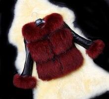 Woman NEW 2014 Winter Coat Complete Skin High-Grade FAUX  Fur  Collars FAUX Fur Coat Blazer Women All Kinds Color Womens