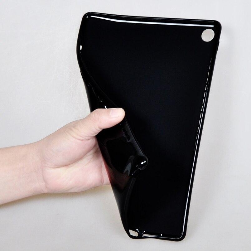 For Huawei MediaPad M5 10.8 Case Soft TPU Drop Resistance Protective Case for Huawei M5 10.8 CMR-AL09/W09 Tablet Funda+Pen