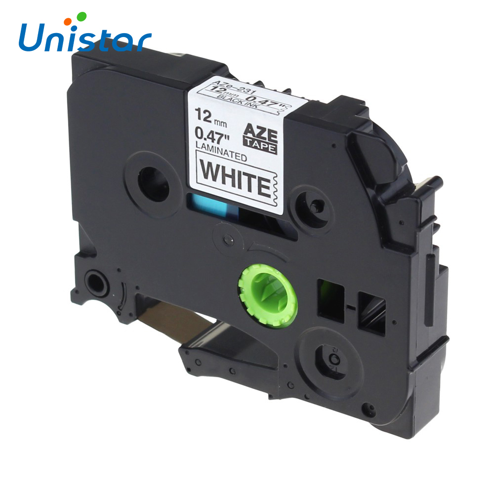 unistar-tze-231-compatible-for-brother-p-touch-tze-12mm-label-tape-tz-231-tze-231-black-on-white-label-ribbons-tze231