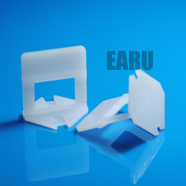 100pcs clips) Plastic Tile Leveling System Clip Tile Spacer ...