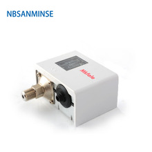 PC55 Pressure Switch For Refrigeration System Available In Air Or Water Fluid Quite Stable Performance Sanmin