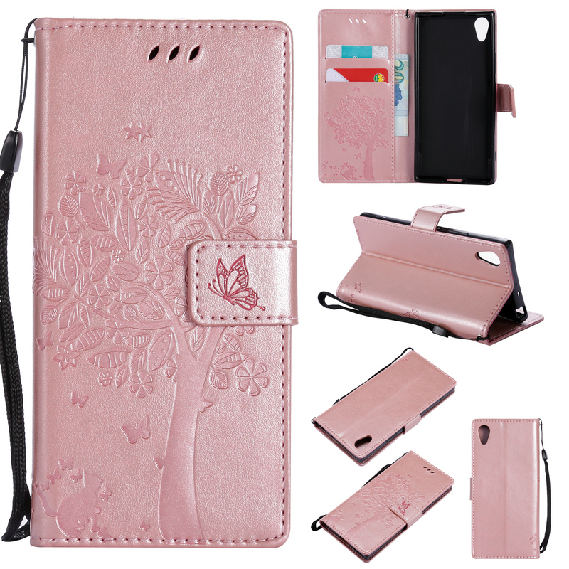 360 Full Cover for Sony Xperia XA1 Flip Case Sony XA1 Case leather Wallet Phone cover for Coque Sony Xperia XA1 Case Xperia XA 1