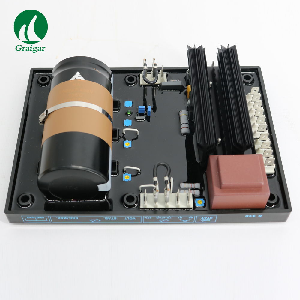 AVR Automatic Voltage Regulator R448 Single Three Phases