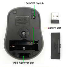 USB Wireless mouse 2000DPI Adjustable Receiver Optical Computer Mouse 2.4GHz Ergonomic Mice For Laptop PC Mouse