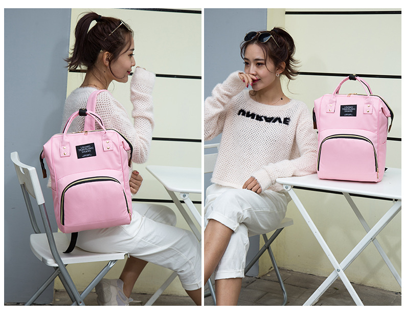 HTB1mYq8Xv1G3KVjSZFkq6yK4XXaJ Multi-Function Mummy Maternity Nappy Bag Fashion Patchwork Large Capacity Baby Bag Travel Backpack Nursing Bag for Mom Designer