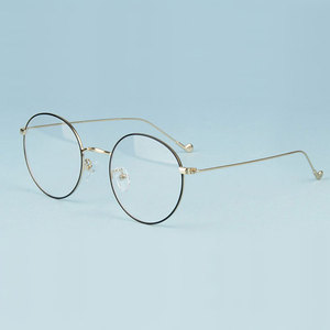 Image 3 - Gmei אופטי אופנתי Urltra אור סגסוגת Eyewear עבור נשים & גברים קוצר ראיה קריאת משקפיים עגולים משקפיים A1507