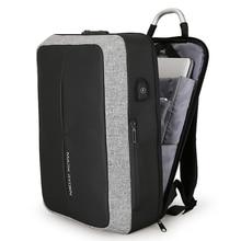 2019 New Anti-thief USB Recharging Laptop Backpack Hard Shell No Key TSA Customs Lock Design Men Travel