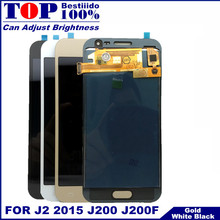 j200 lcd For Samsung Galaxy J2 2015 J200F J200M J200H J200Y LCD Display Digitizer Touch Screen Assembly For samsung j2 j200 lcd(China)