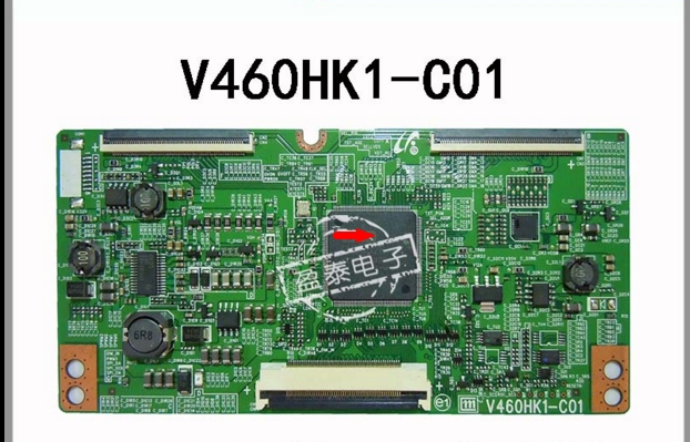 Led 3d Ua46d6400uj V460hk1-c01 LOGIC BOARD Connect With T-CON Connect Board