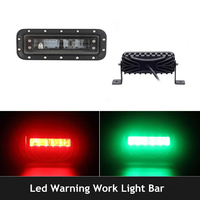 Blue/Red Side Light LED 800LM Forklift Truck Danger Zone Visual Warning Work Lamp 30W Light 10 30V DC
