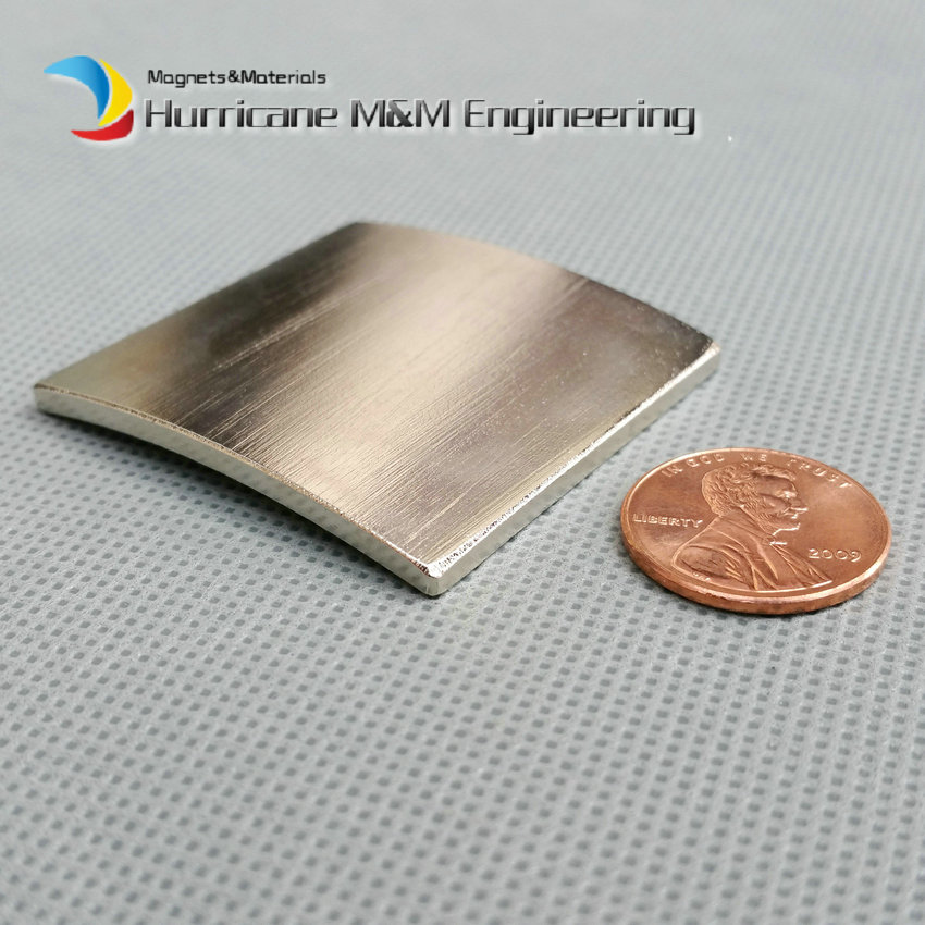 14 pcs/lot NdFeB Arc OR92.9xIR90.4xWidth42xLength40mm Motor magnet for generators wind turbine Neodymium Permanent Magnet