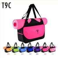 Yoga Mats Clothes Bag Camping Fitness Backpack Waterproof Sports Bag Custom Printed Logo Not Contain Yoga