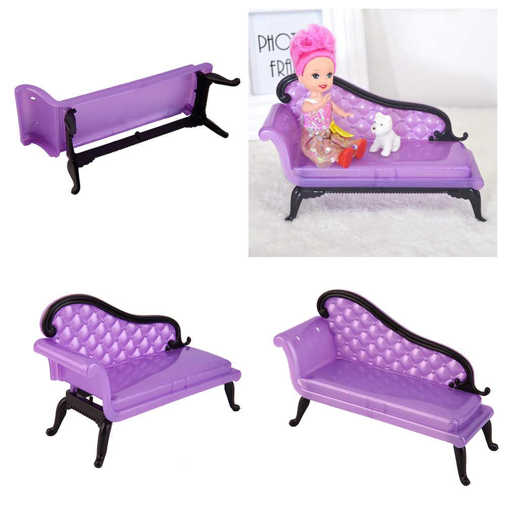 Новые мини-куклы, кукольная мебель, милый стул мдля кукольного домика принцессы, диван, мебель для детских игрушек, подарок для девочек, хит продаж