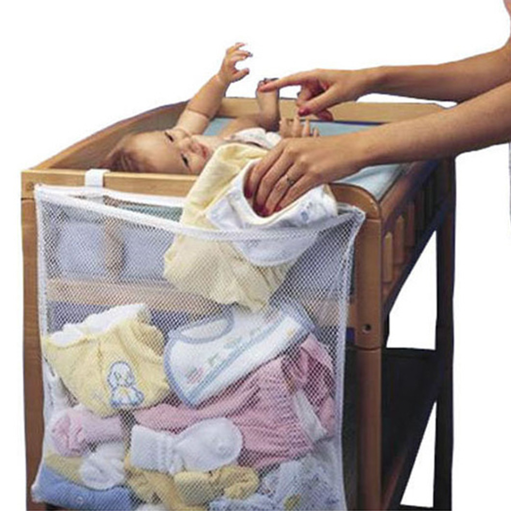 Baby Dirty Clothes Multipurpose Crib Organizer Bed Hanging Household Large Crib Circumference Hanging Storage Dirty Clothes