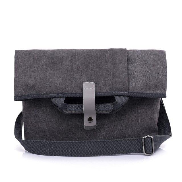 ffb639a5e7 US $23.75 11% OFF multifuncional business bag handbag men vintage canvas  pouch designer crossbody messenger bag man tote purse mens shoulder bags-in  ...