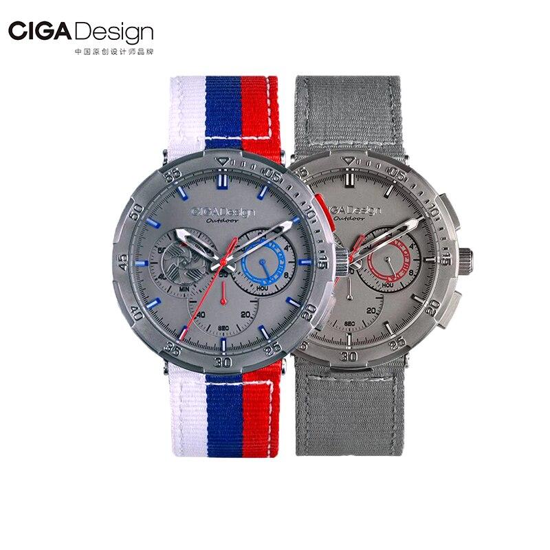 Original Xiaomi Ciga O Series Watch World Cup Memorial Quartz Watch Sports Luminous Watch Lighting Design  For Women Men Design